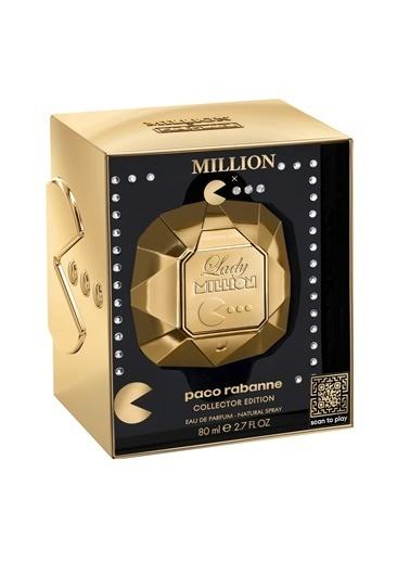 Paco Rabanne  Lady Million Pacman Edp 80Ml Kadın Parfüm Renksiz